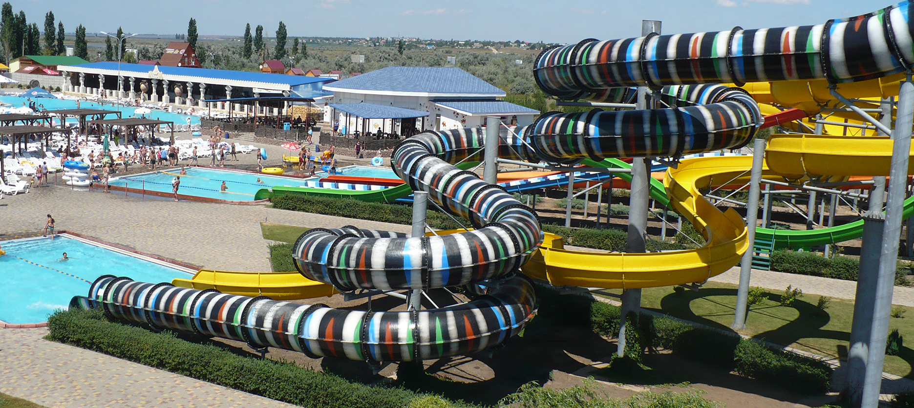 Implementation of the «Server POSITIVE» in water parks.